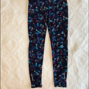 EUC Athleta Colorful Leggings